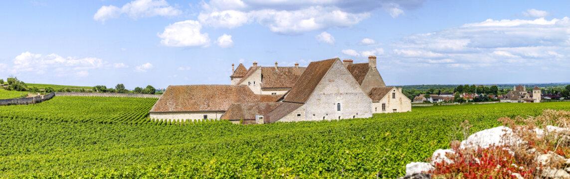 Burgund, Frankreich, Clos De Vougeot