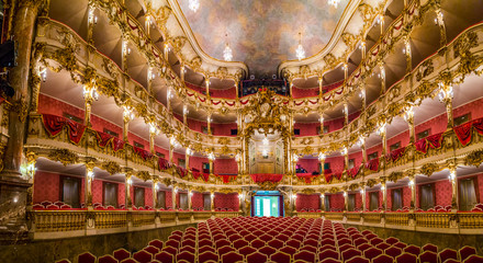 inside famous Munich Residence theater