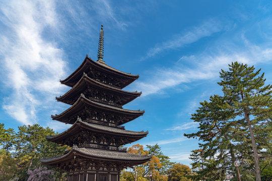 奈良 興福寺 五重塔