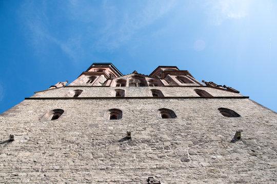 Markt- und Ratskirche St. Johannis Kirche in der Stadt Göttingen in Niedersachsen