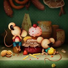Mysz miejska i mysz wiejska