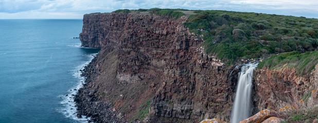 Paesaggio costiero a Capo Nieddu