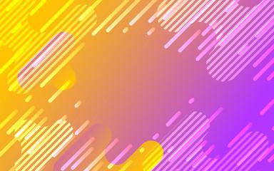 オレンジとピンクのネオンカラーグラデーションデジタル背景