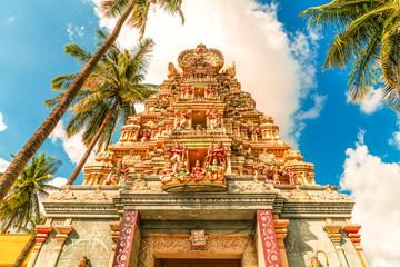 Fotobehang Bedehuis Lord Krishna Temple in Bangalore