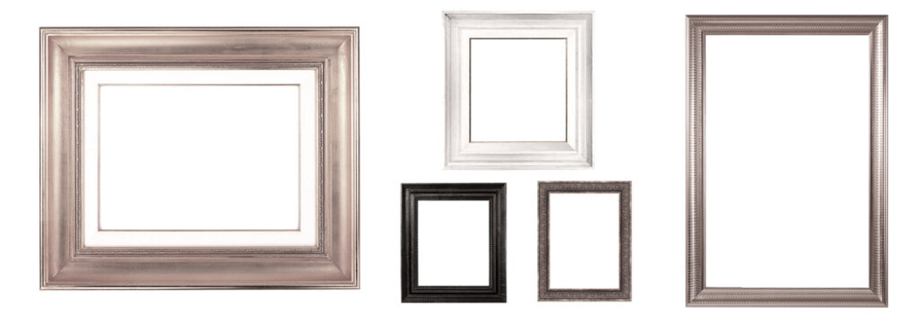 antique isolated picture frame