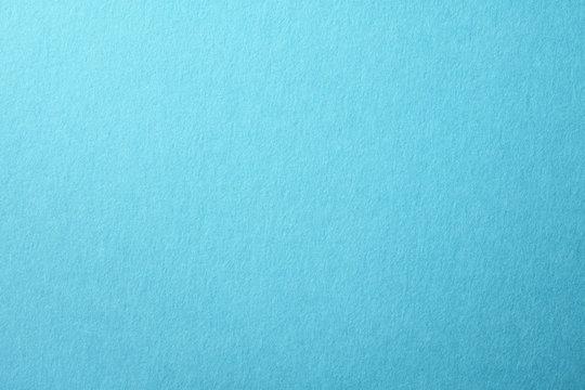 水色の紙のアップ
