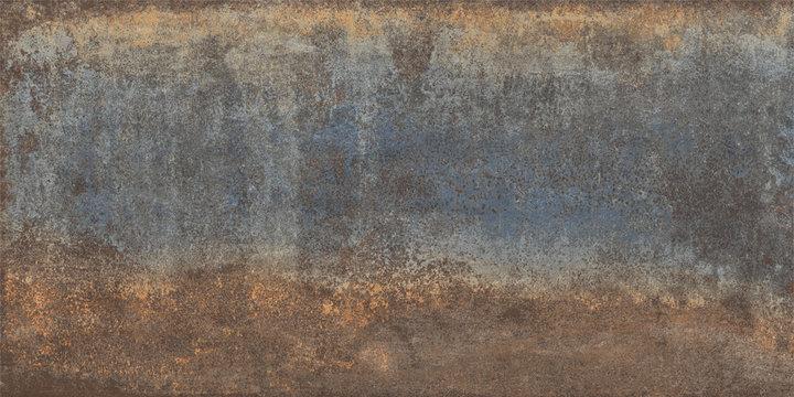 old grunge metal iron rust texture, Oxidized metal background. Old metal iron panel background