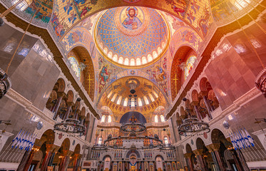 Cathedral of Saint Nicholas in Kronstadt, Russia
