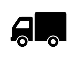 Obraz ciężarówka ikona - fototapety do salonu