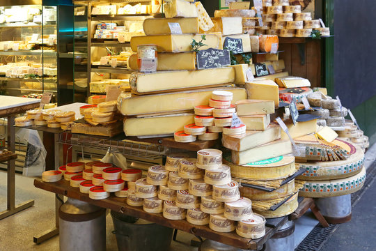 Cheese Shop at Borough Market London