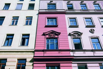 Wall Mural - Vienna, Austria. Vintage color tone.