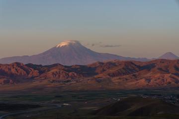Mount Agri or Ararat is the highest mountain in Turkey.