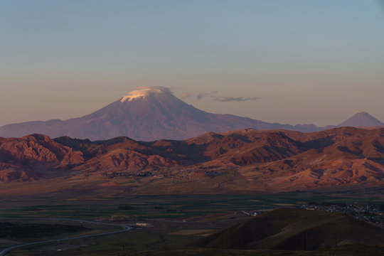 Mount Agri or Ararat is the highest mountain in Turkey.