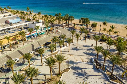 Las Olas Boulevard and A1A Fort Lauderdale FL