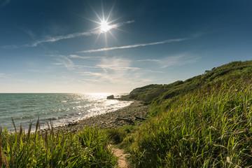 Summers Day at Watershoot Bay, Niton, Isle of Wight