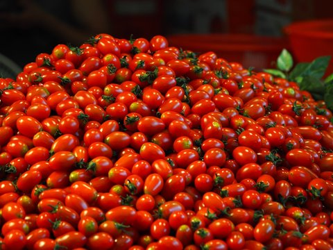 방울토마토, 전통시장