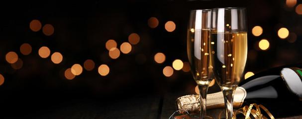 Spoed Foto op Canvas Alcohol Champagner zum Fest