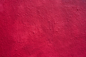 Foto auf Leinwand Graffiti closeup of red painting on the wall texture