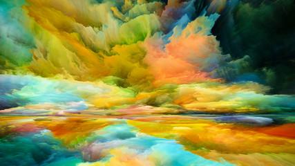 Photo Blinds Honey Kiss of Inner Spectrum
