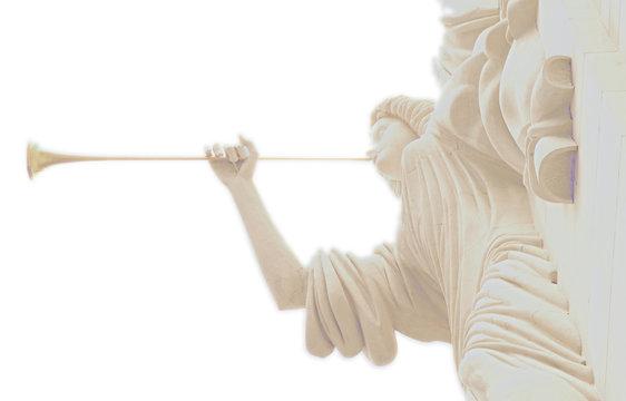 Angel Blowing Hon