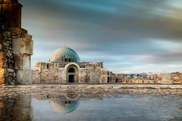 Amman Citadel landmark from Amman city in Jordan Fotomurales