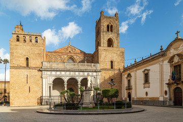 The Cathedral of Monreale (Cattedrale di Monreale), near Palermo, Sicily