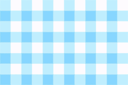 vector blue and white Gingham check pattern design illustration for printing on paper, wallpaper, covers, textiles, fabrics, for decoration, decoupage, and other.