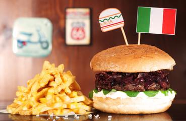 Italian Hamburger
