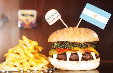 Argentinian  Hamburger