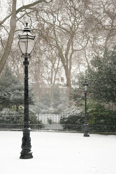 Winter London Park