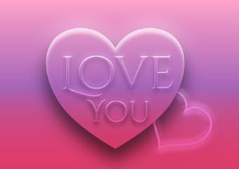 Herz, 3D, Liebe
