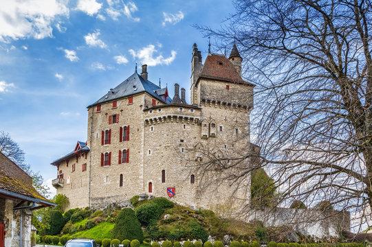 Chateau de Menthon, France