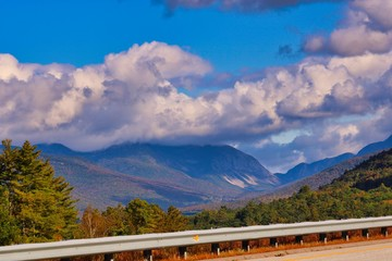 Franconia Notch-Evening