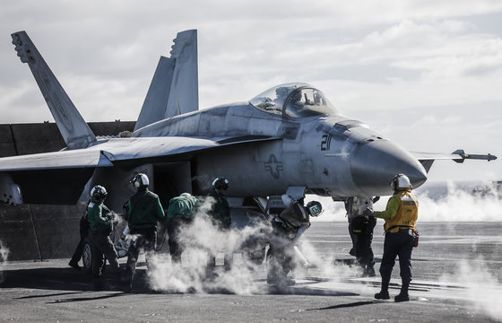 15 July 2017 USS Ronald Reagan operates of the coast of Rockhampton, Australia during Exercise Talisman Sabre - Photo: Cameron Laird (Ph: 0418 238811 - cameron@cameronlaird.com)