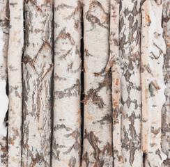 Photo sur Aluminium Texture de bois de chauffage texture of wood log pile background