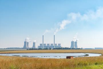 Tutuka Power Station near Standerton in the Mpumalanga Province