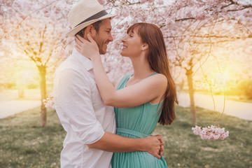 summer spring couple