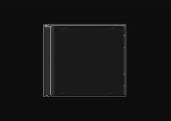 CD JACKET - BLACK BASE