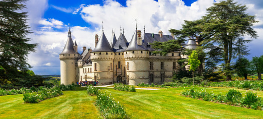 Most beautiful medieval castles of France - Chaumont-sur-Loire, Loire valley