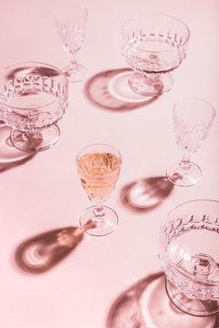 Drinking alone still life