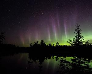 Foto op Aluminium Noorderlicht Aurora Northen Lights