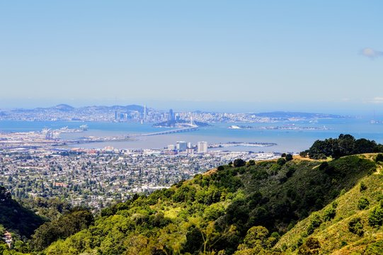 View Over San Francisco and the East Bay