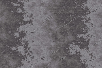 Fotobehang - Metal steel scratched texture for background. Old damaged iron with scratched surface.