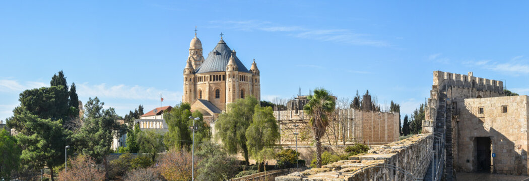 Mount Zion in Jerusalem.