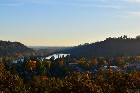 Willamette River at West Linn, OR 2