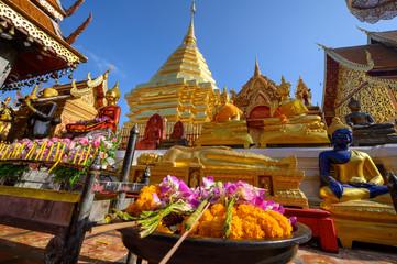 Foto auf Leinwand Kultstatte Temple de Doi Suthep