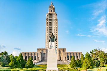 Louisiana State Capitol Building in Baton Rouge Fotomurales