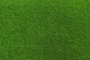 Tuinposter Gras artificial lawn green grass floor