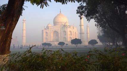 taj mahal in india Fototapete