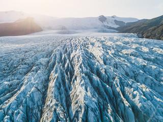 glacier ice closeup, Iceland nature landscape view